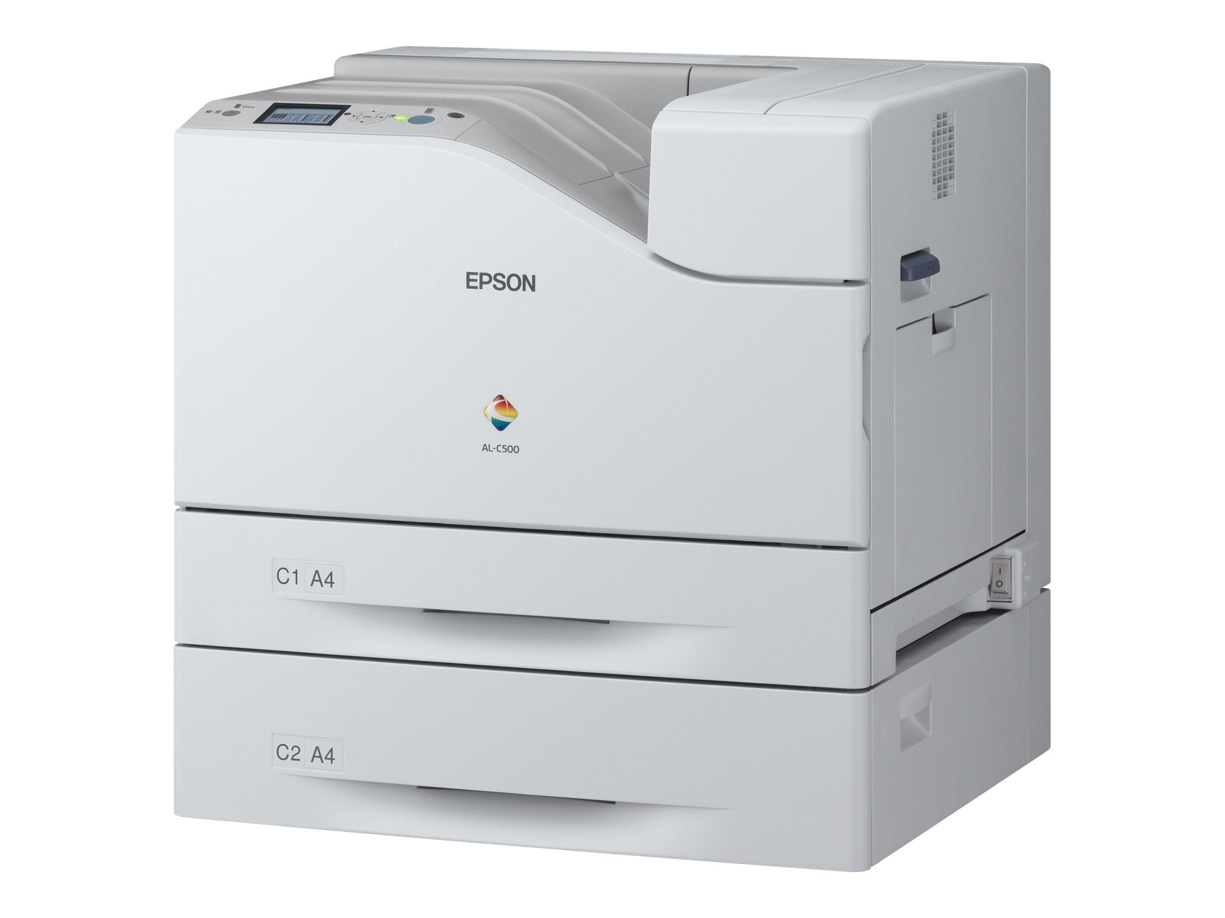 Epson WorkForce AL-C500DTN - Drucker - Farbe - Duplex - Laser - A4/Legal