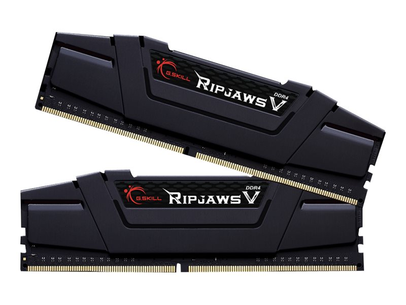 G.Skill Ripjaws V - DDR4 - 16 GB: 2 x 8 GB - DIMM 288-PIN - 3200 MHz / PC4-25600 - CL16