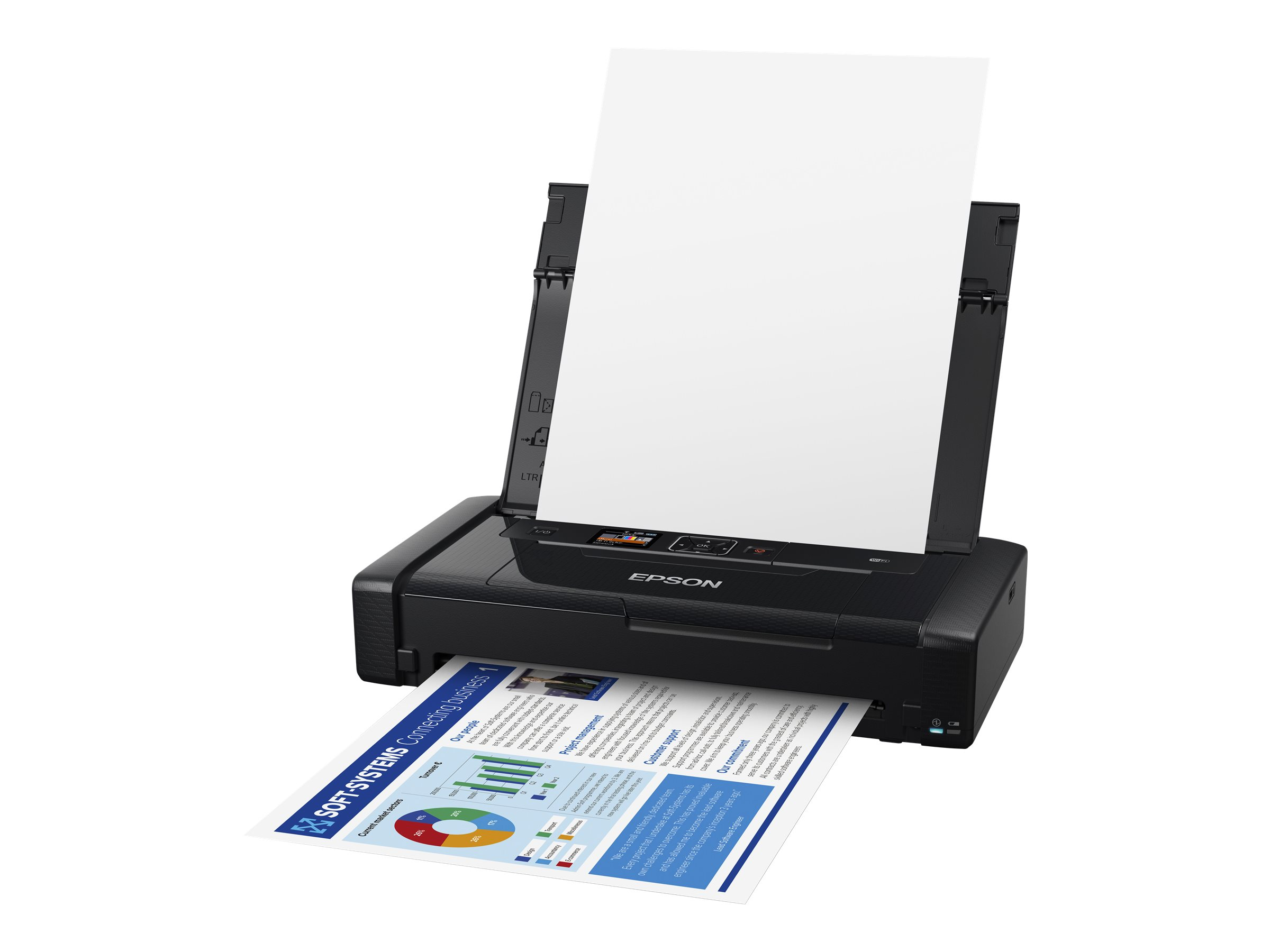 Epson WorkForce WF-110W - Drucker - Farbe - Tintenstrahl - A4/Legal - 5760 x 1440 dpi
