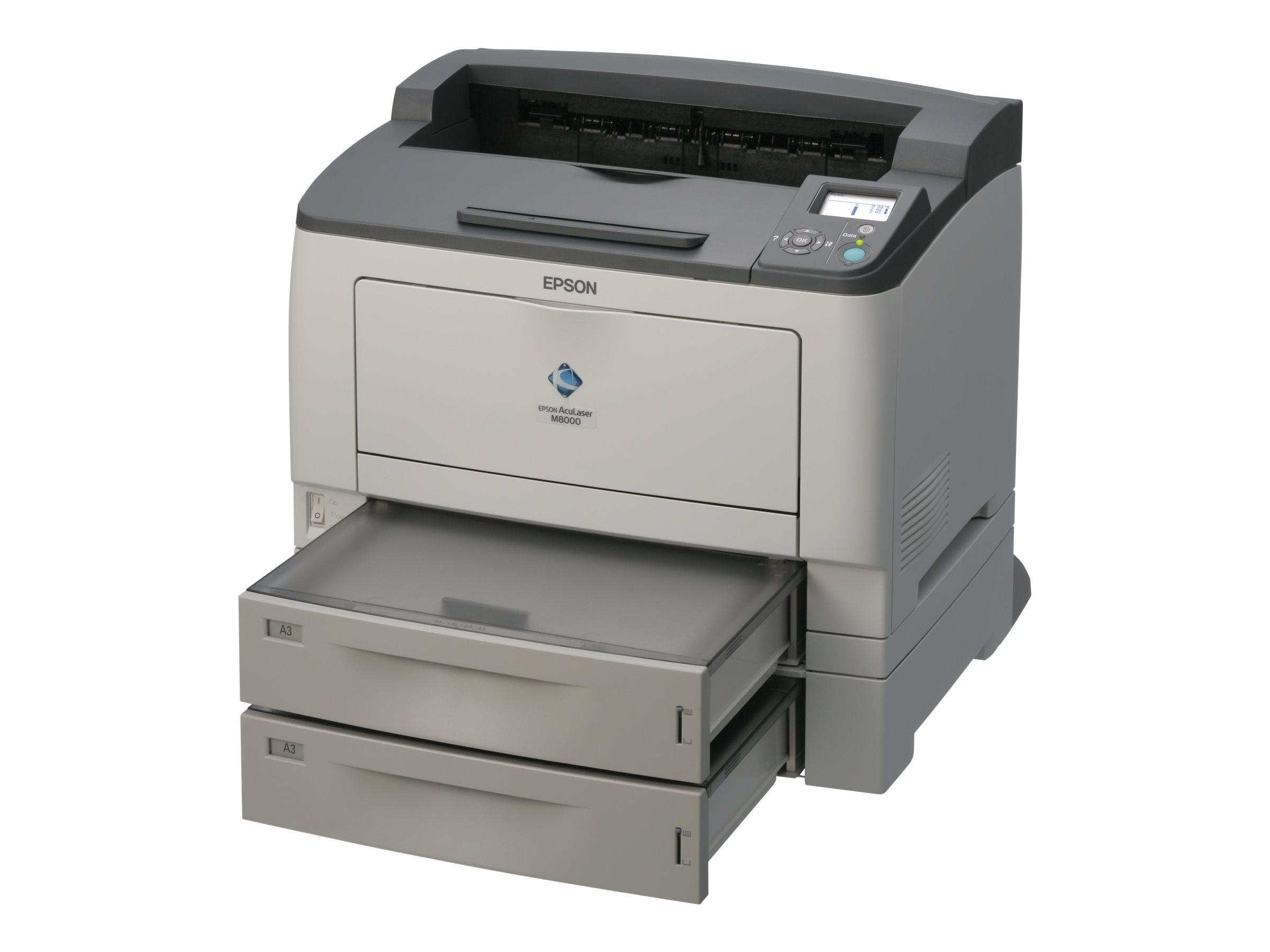 Epson AcuLaser M8000TN - Drucker - monochrom - Laser - A3 - 1200 dpi