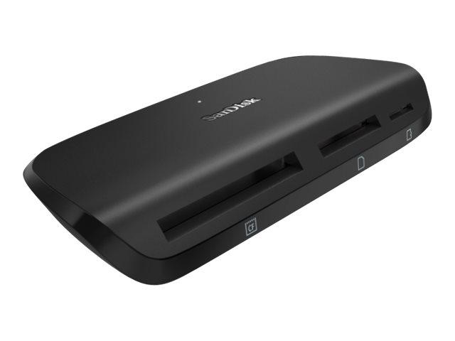 SanDisk ImageMate PRO - Kartenleser (SD, CF, microSD, SDHC, microSDHC, SDXC, microSDXC, SDHC UHS-I, SDXC UHS-I, SDHC UHS-II, SDX
