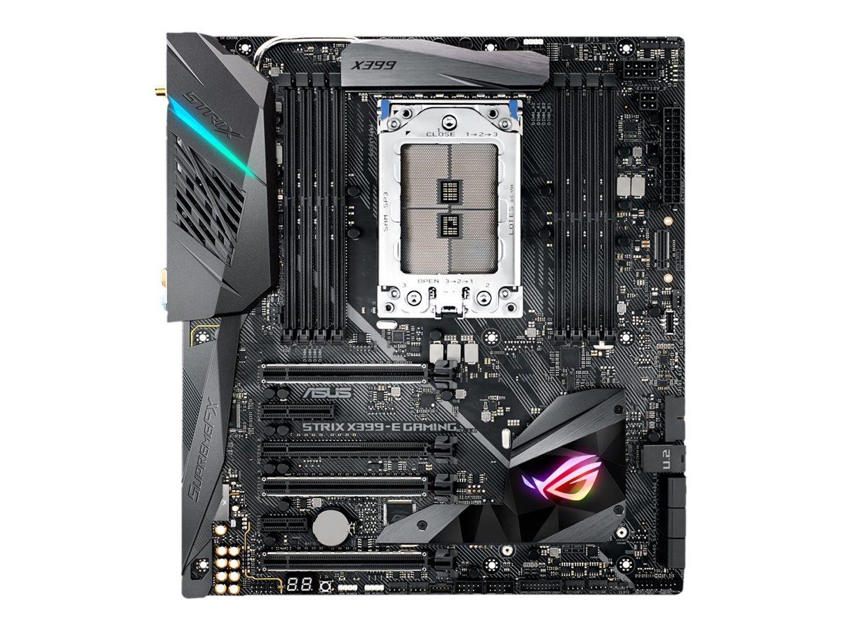 ASUS ROG Strix X399-E Gaming - Motherboard - Erweitertes ATX - Socket TR4 - AMD X399 - USB 3.1 Gen 1, USB-C Gen2, USB 3.1 Gen 2