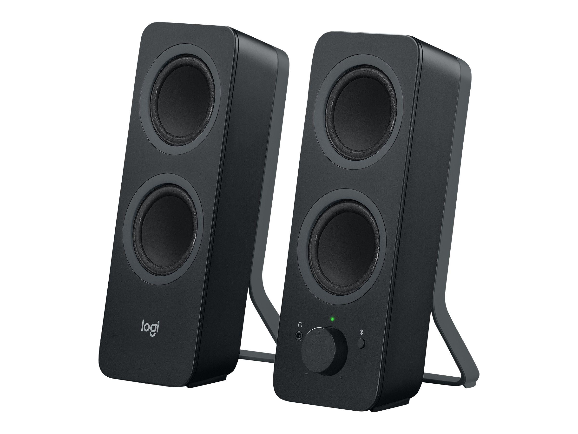 Logitech Z207 - Lautsprecher - für PC - 2.0-Kanal - kabellos - Bluetooth