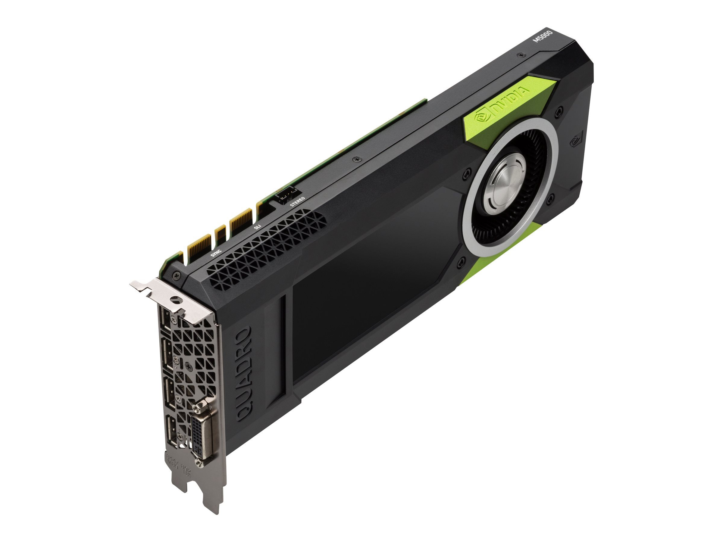 NVIDIA Quadro M5000 - Grafikkarten - Quadro M5000 - 8 GB GDDR5 - PCIe 3.0 x16 - DVI, 4 x DisplayPort