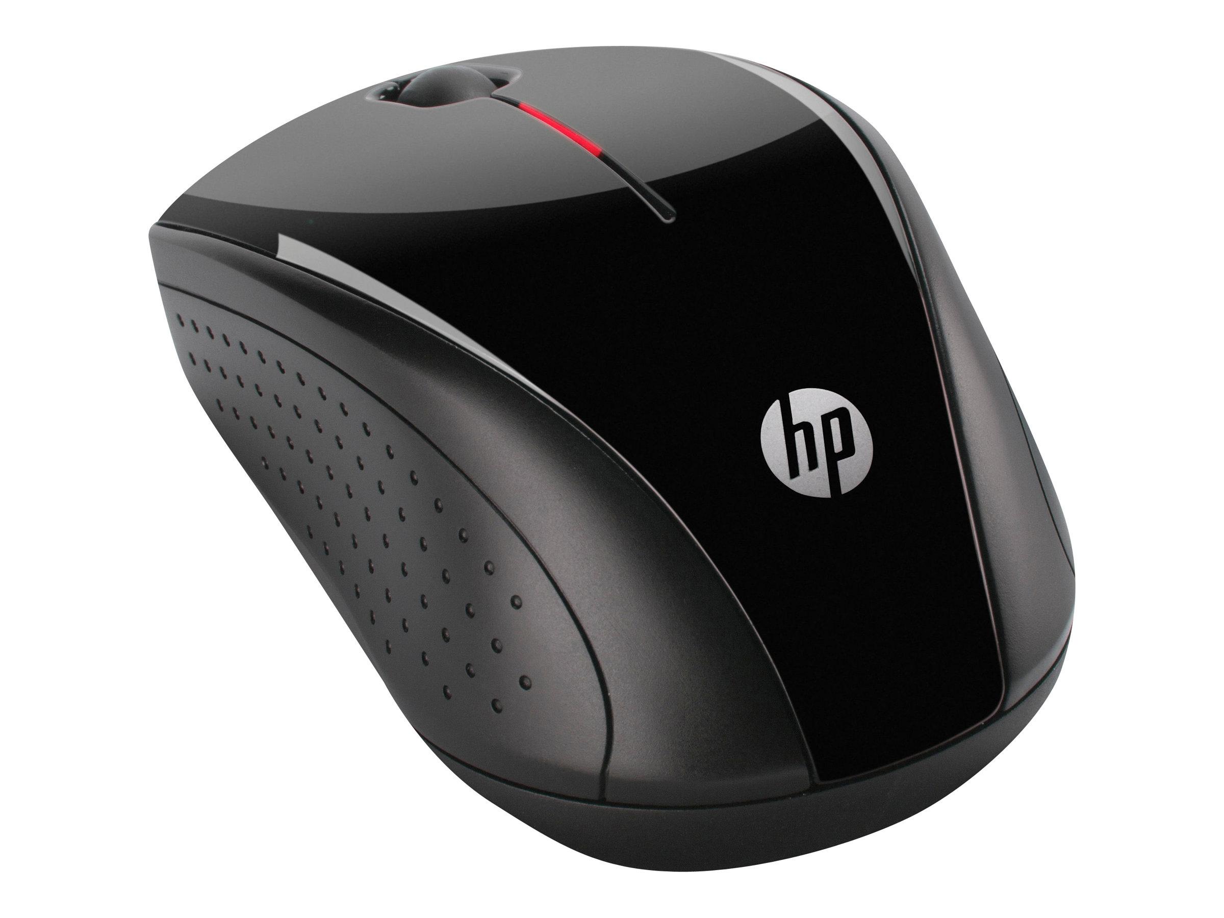 HP X3000 - Maus - optisch - 3 Tasten - kabellos - 2.4 GHz