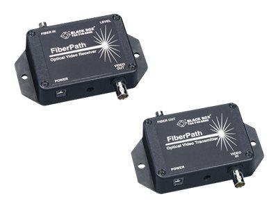 Black Box FiberPath - Repeater - Glasfaser - BNC / BNC - bis zu 2.4 km - 850 nm