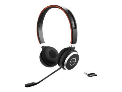 Jabra Evolve 65 MS stereo - Headset - On-Ear - Bluetooth - kabellos - NFC