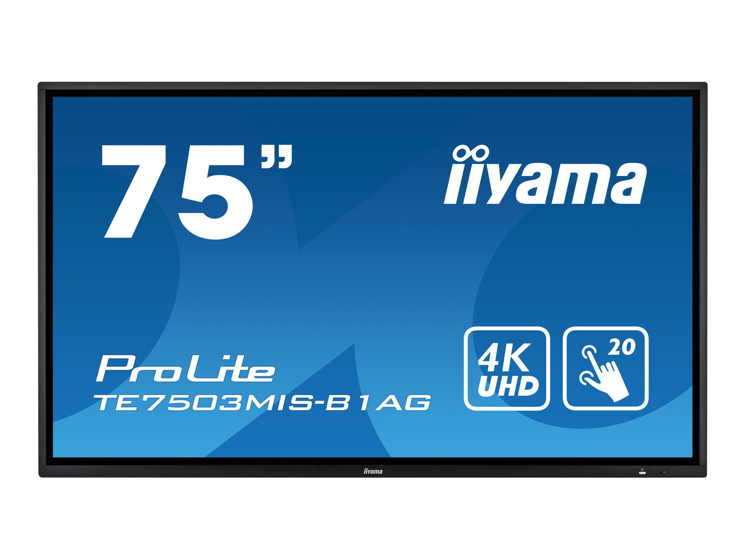 iiyama ProLite TE7503MIS-B1AG - 190.5 cm (75