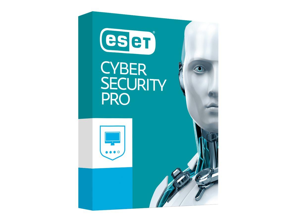 ESET Cyber Security Pro - Abonnement-Lizenz (1 Jahr) - 5 Computer - Mac