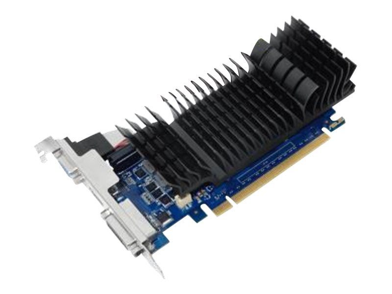 ASUS GT730-SL-2GD5-BRK - Grafikkarten - GF GT 730 - 2 GB GDDR5 - PCIe 2.0 Low-Profile - DVI, D-Sub, HDMI