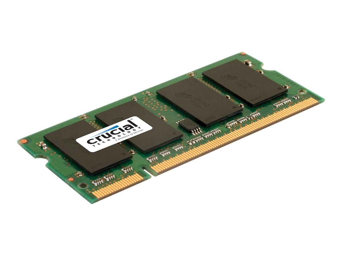 Crucial - DDR2 - 2 GB - SO DIMM 200-PIN - 800 MHz / PC2-6400 - CL6