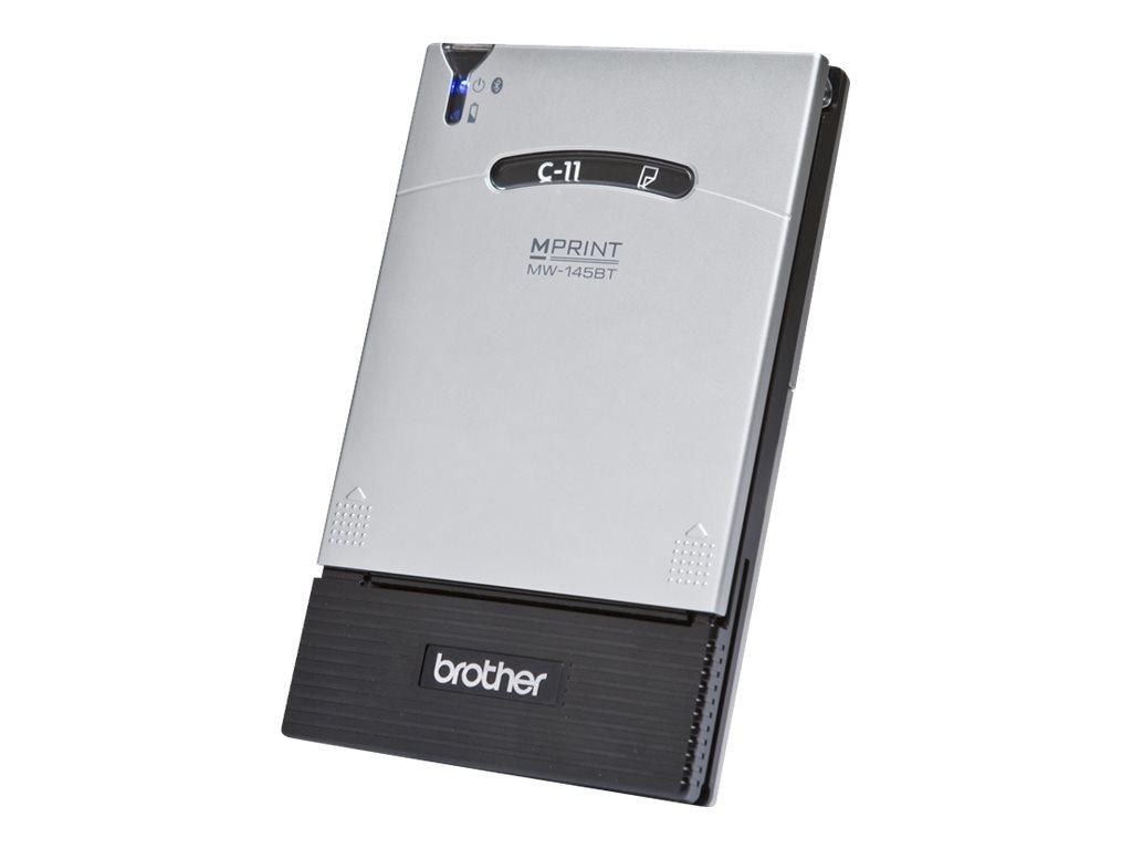 Brother m-PRINT MW-145BT - Drucker - monochrom - Thermopapier - A7 - 300 x 300 dpi