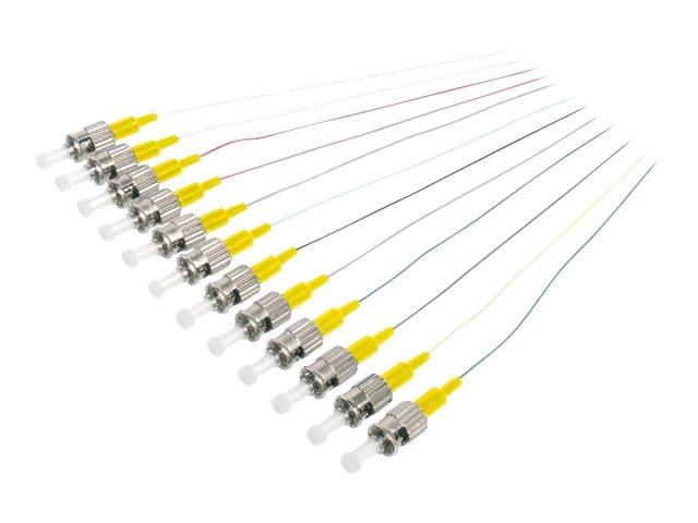 DIGITUS Professional - Anschlussleitung, Lötfahne - ST Einzelmodus (M) - 2 m - Glasfaser - 9/125 Mikrometer