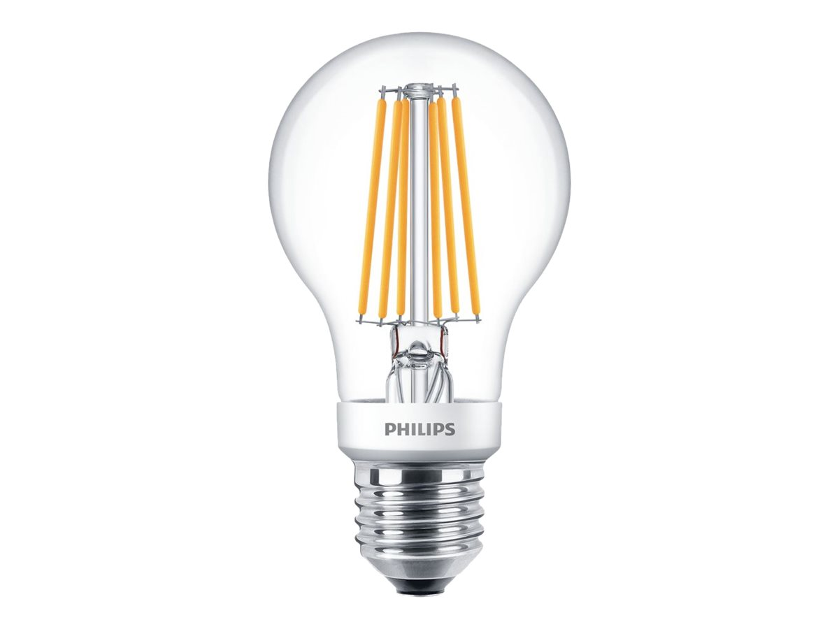 Philips SceneSwitch - LED-Lampe - Form: A60 - klar Finish - E27 - 7.5 W (Entsprechung 60 W)