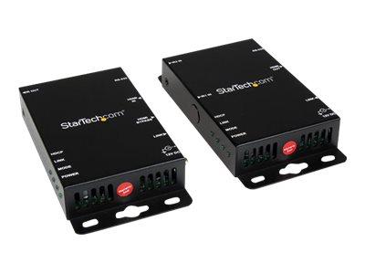 StarTech.com HDMI über Cat5 Video Extender mit RS232 und IR-Fernbedienung bis zu 100m - HDMI auf Cat5 Extender Kit - Video/Infra