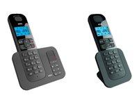AEG VOXTEL D505 TWIN - Schnurlostelefon - Anrufbeantworter mit Rufnummernanzeige - DECT\GAP + zusätzliches Handset