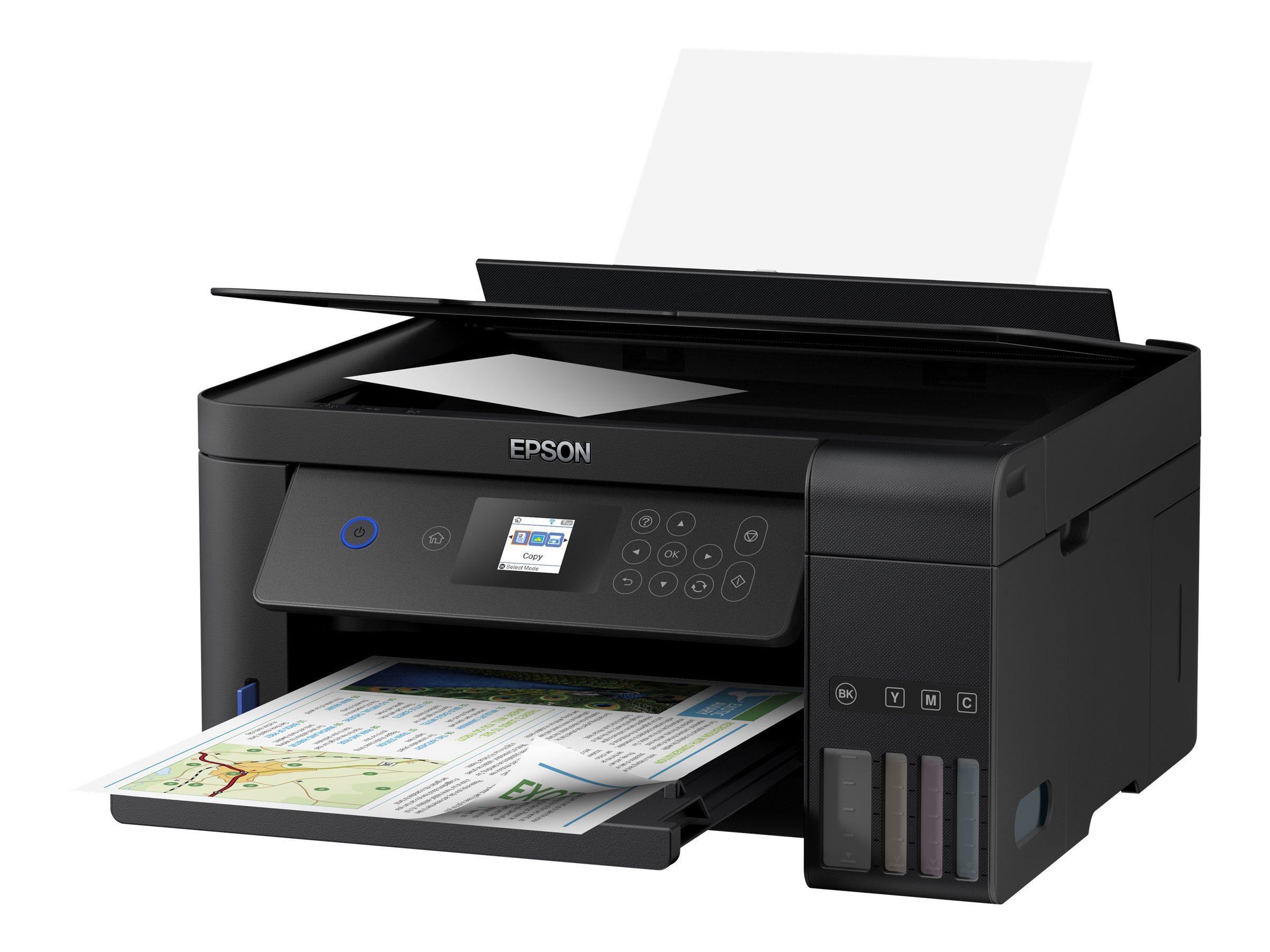 Epson EcoTank ET-2751 - Multifunktionsdrucker - Farbe - Tintenstrahl - A4/Legal (Medien) - bis zu 10.5 Seiten/Min. (Drucken)