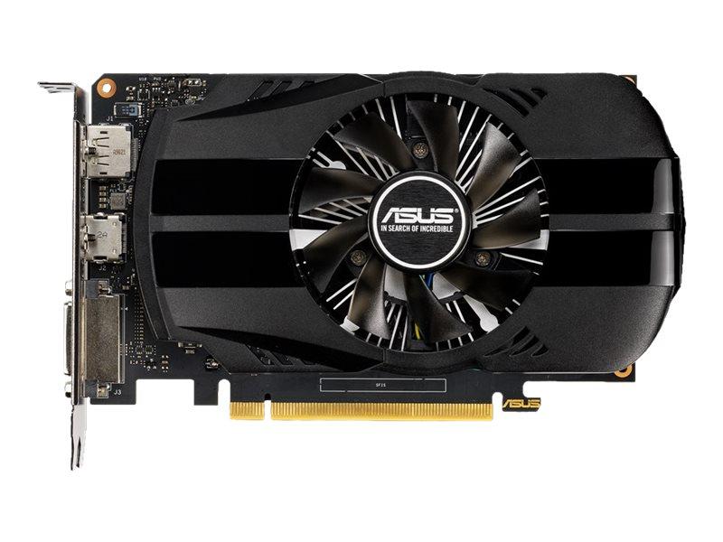 ASUS PH-GTX1650-O4G - OC Edition - Grafikkarten - GF GTX 1650 - 4 GB GDDR5 - PCIe 3.0 x16