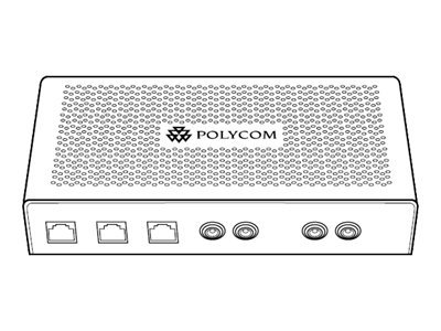 Polycom SoundStation IP Multi-Interface Module - Schnittstellenmodul - für SoundStation IP 7000