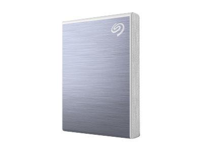 Seagate One Touch SSD STKG1000402 - Solid-State-Disk - 1 TB - extern (tragbar) - USB 3.0 (USB-C Steckverbinder) - Blau