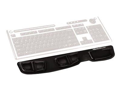 Fellowes Keyboard Palm Support - Tastaturplattform mit Handgelenkstütze - Schwarz