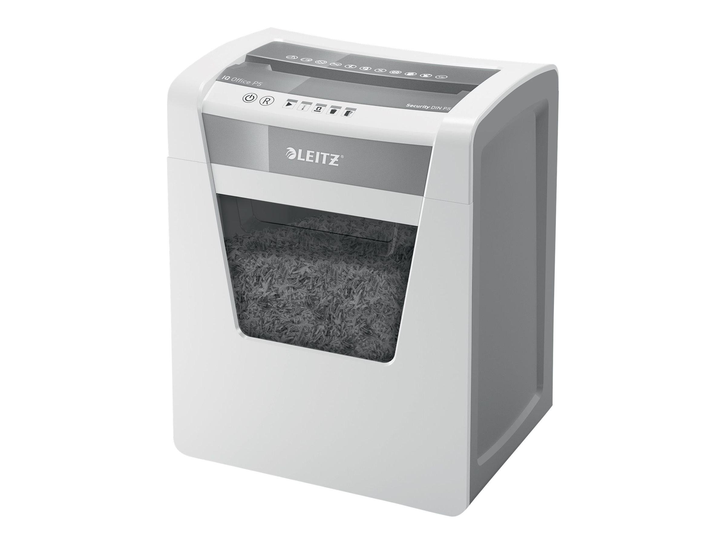 Leitz IQ Office P5 - Vorzerkleinerer - Mikroschnitt - 2 x 15 mm - P-5