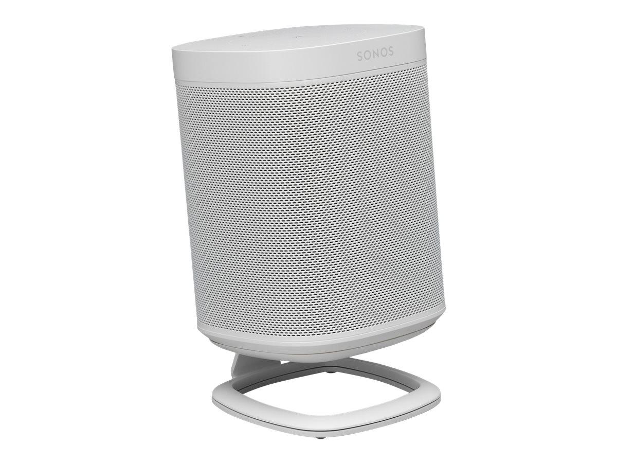 Flexson S1-DS - Aufstellung für Lautsprecher - Metall - weiss - Schreibtisch-Ständer - für Sonos PLAY:1