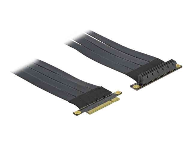 DeLOCK Riser Card PCI Express x8 to x8 with flexible cable - Riser Card
