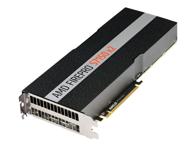 Sapphire AMD FirePro S7150 X2 Server Graphics - GPU-Rechenprozessor - 2 GPUs - FirePro S7150 - 16 GB GDDR5 - PCIe 3.0 x16