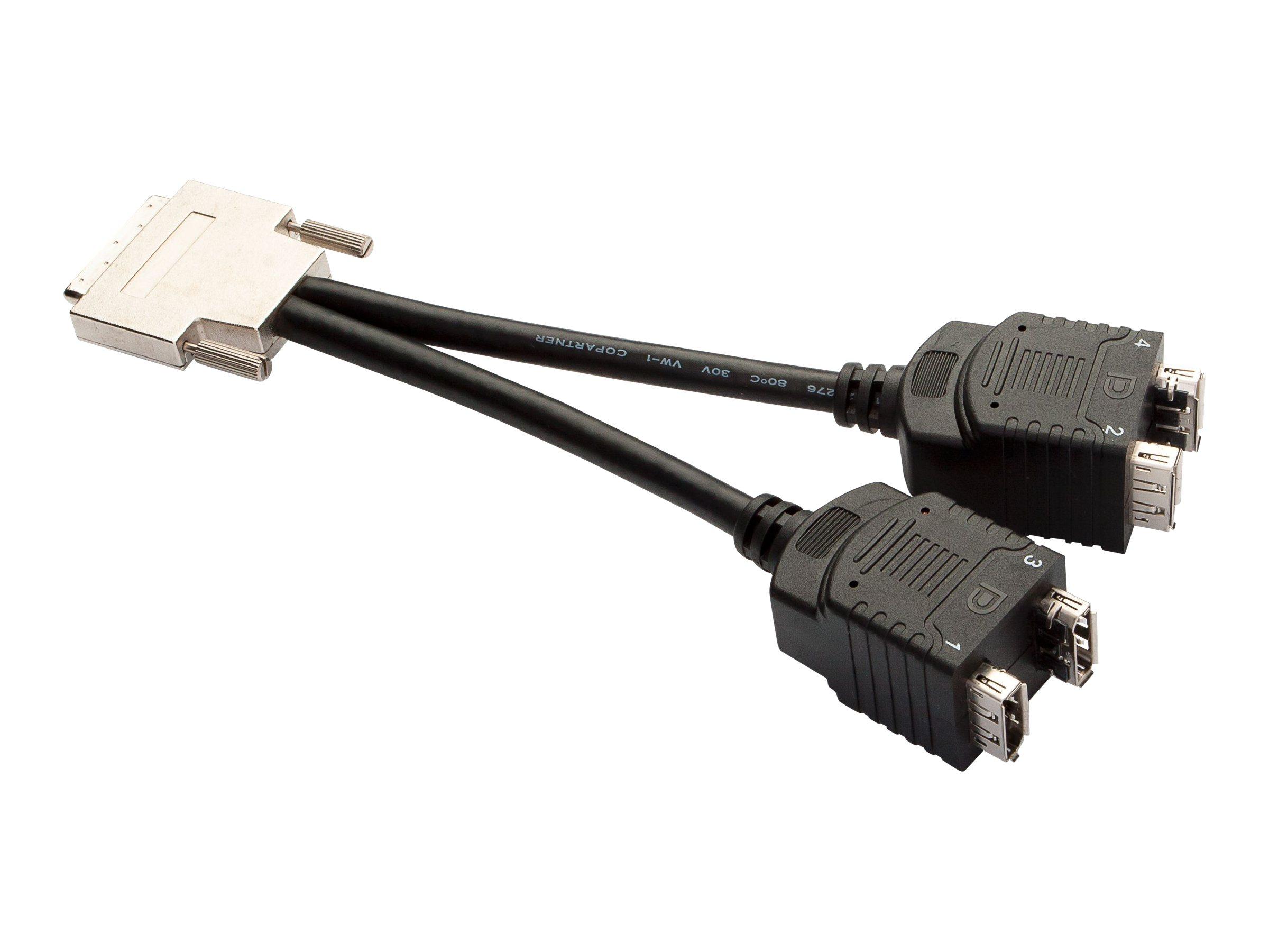 PNY - DisplayPort-Kabel - DisplayPort (W) bis VHDCI 68-polig (M)