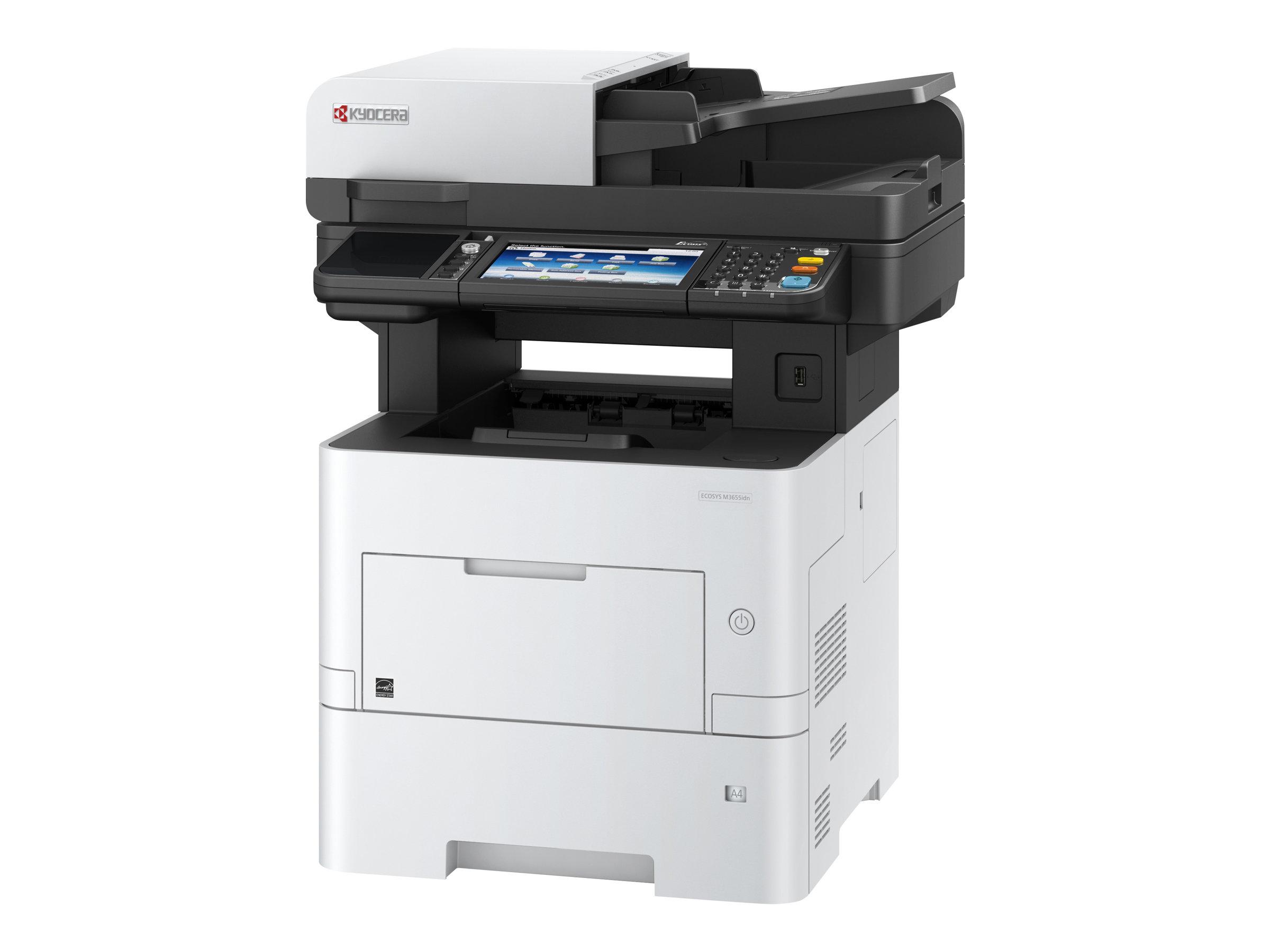 Kyocera ECOSYS M3655idn - Multifunktionsdrucker - s/w - Laser - A4 (210 x 297 mm), Legal (216 x 356 mm) (Original) - A4/Legal (M