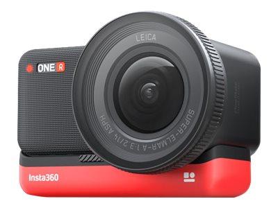 Insta360 ONE R 1-Inch Edition - Action-Kamera - 5.3K / 30 BpS - 19 MPix - Wi-Fi, Bluetooth - Unterwasser bis zu 5 m