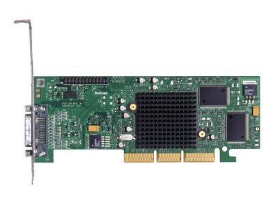 Matrox Millennium G550 Dual DVI - Grafikkarten - MGA G550 - 32 MB DDR - AGP 4x Low-Profile