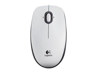 Logitech B100 - Maus - rechts- und linkshändig - optisch - 3 Tasten - kabelgebunden