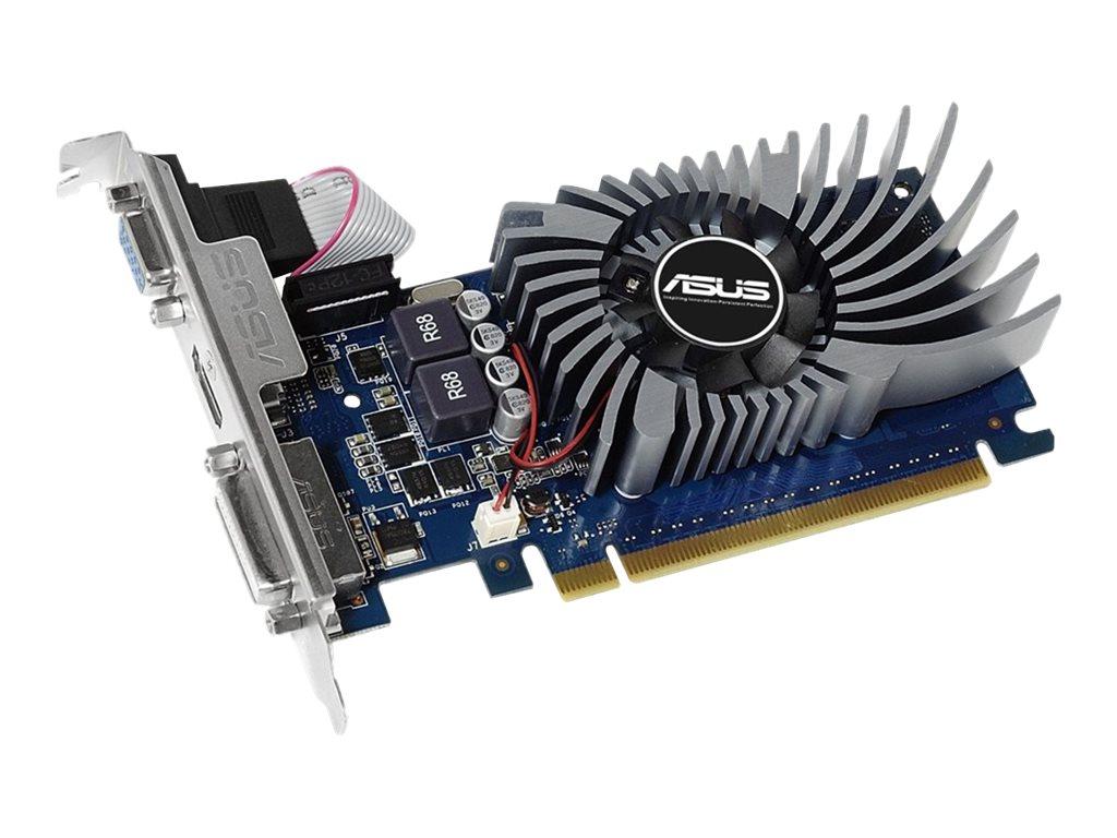 ASUS GT730-2GD5-BRK - Grafikkarten - GF GT 730 - 2 GB GDDR5 - PCIe 2.0 x16 Low-Profile - DVI, D-Sub, HDMI