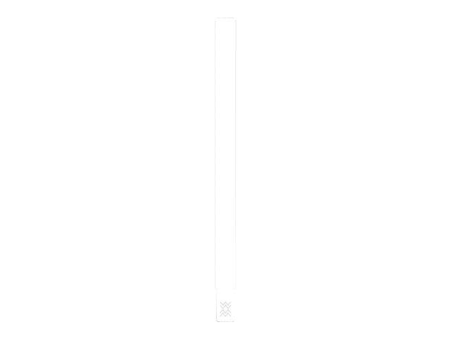 Zebra Z-Band UltraSoft - Polypropylen (PP) - Klebstoff - weiss - 19.05 x 279.4 mm 1050 Stck. (6 Rolle(n) x 175) Vinyl-Armbänder