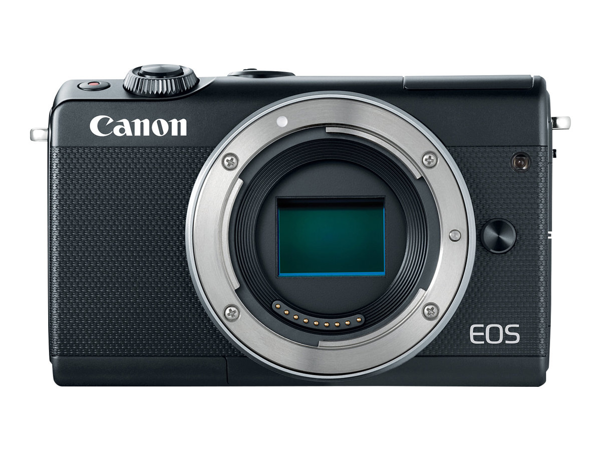 Canon EOS M100 - Digitalkamera - spiegellos - 24.2 MPix - APS-C - 1080p / 60 BpS