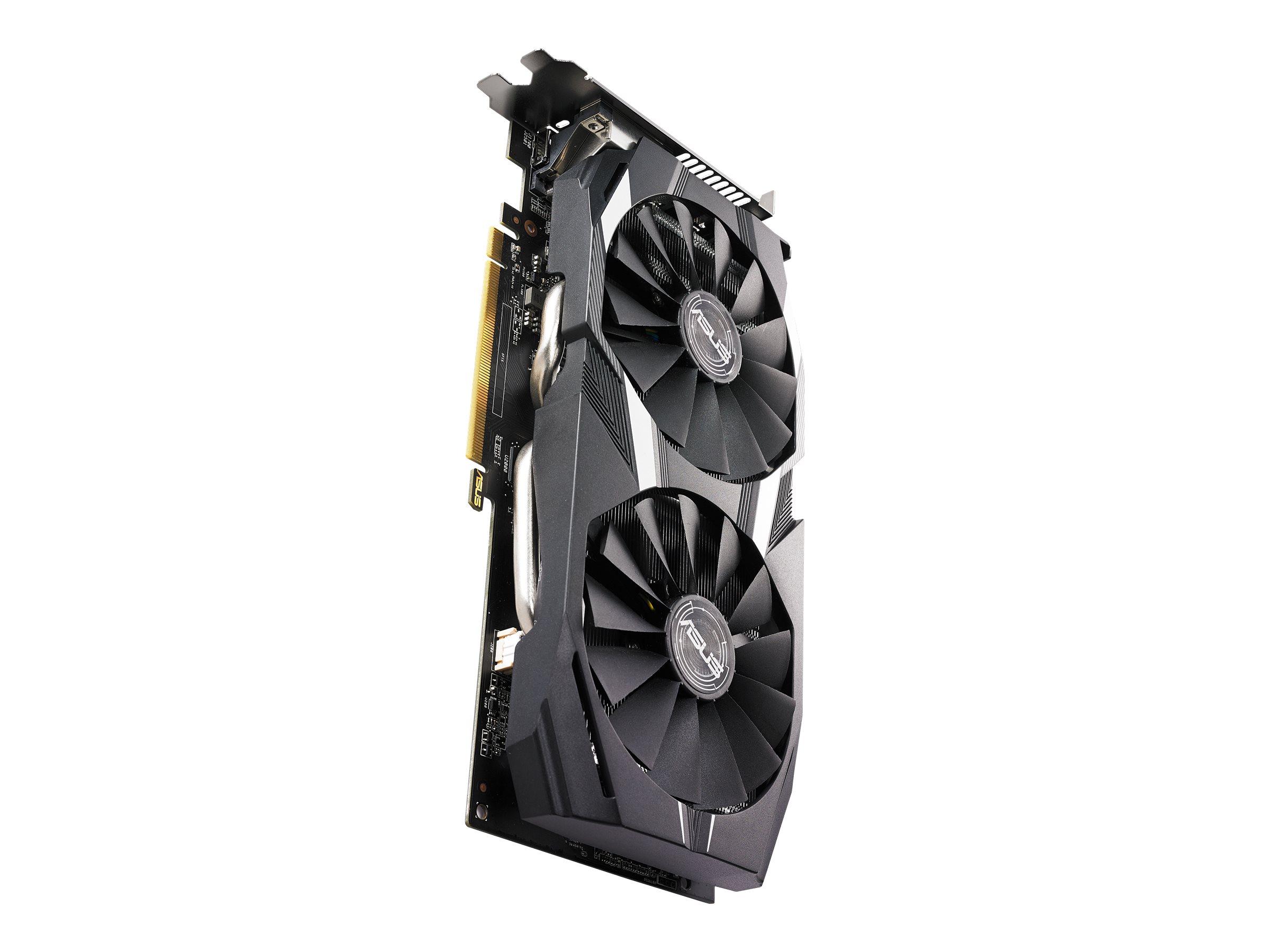 ASUS DUAL-RX580-O8G - Grafikkarten - Radeon RX 580 - 8 GB GDDR5 - PCIe 3.0 x16 - DVI, 2 x HDMI, 2 x DisplayPort
