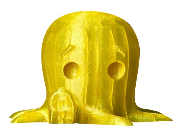 MakerBot - 1 - Translucent Yellow - 0.9 kg - PLA-Filament (3D) - für Replicator 2X, Fifth Generation, Z18
