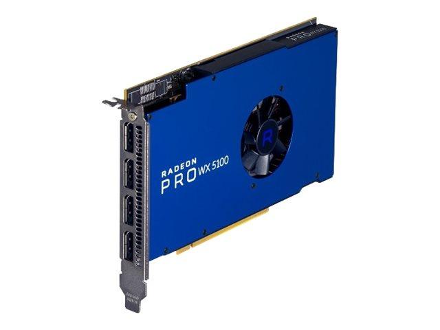 AMD Radeon Pro WX 5100 - Grafikkarten - Radeon Pro WX 5100 - 8 GB - 4 x DisplayPort - für Precision 5820, 7820, 7920; Precision