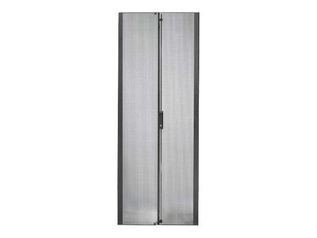 APC - Rack-Tür - Schwarz - 48U - für NetShelter SX