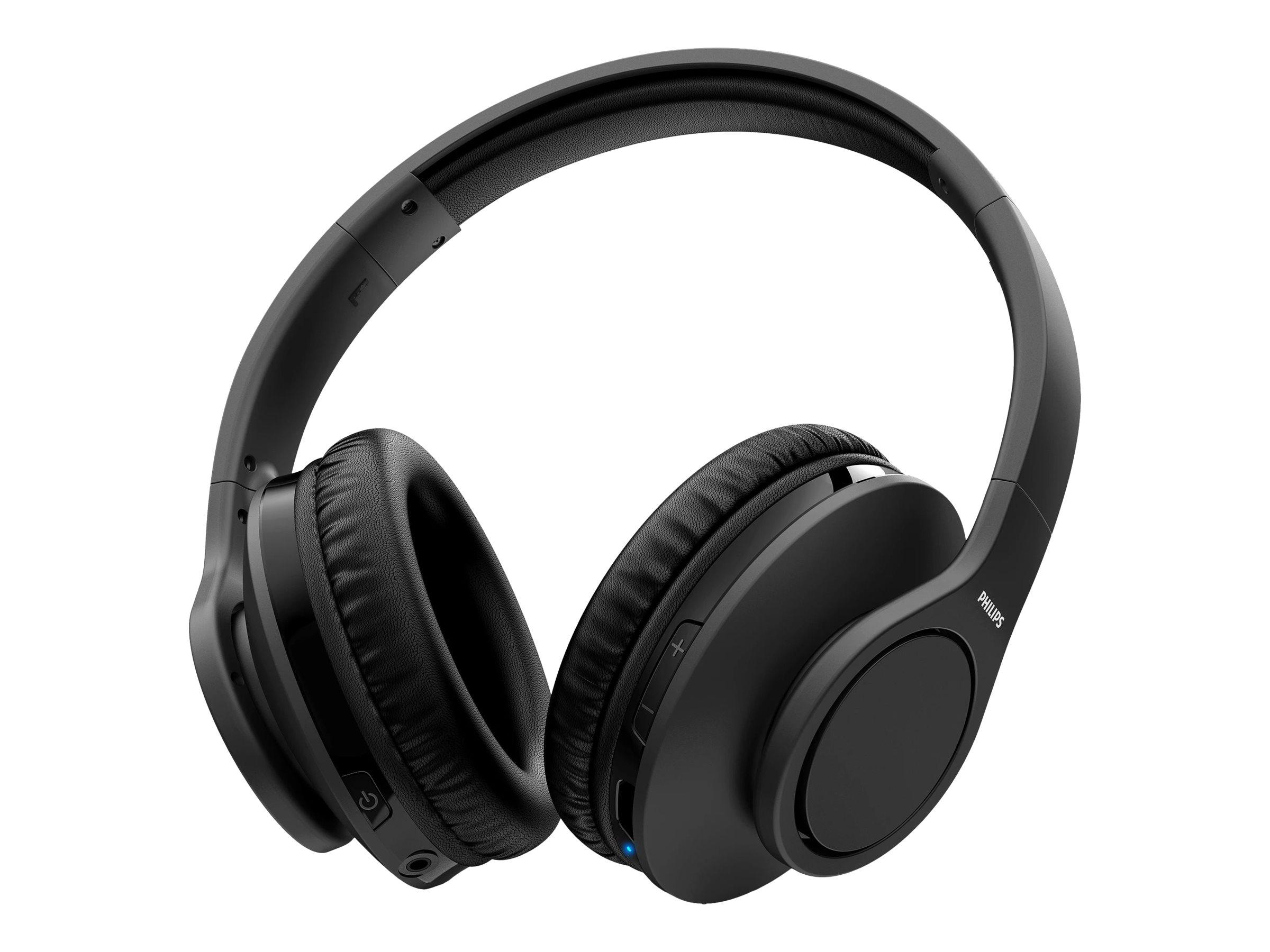 Philips TAH6005BK - Kopfhörer - ohrumschliessend - kabellos - Geräuschisolierung - Schwarz