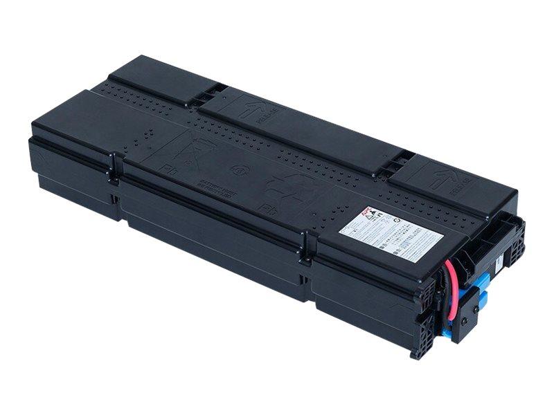 APC Replacement Battery Cartridge #155 - USV-Akku - 1 x Bleisäure - Schwarz - für P/N: SRT1000RMXLI, SRT1000RMXLI-NC, SRT1000XLI