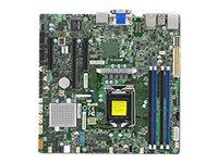 SUPERMICRO X11SSZ-QF - Motherboard - micro ATX - LGA1151 Socket - Q170 - USB 3.0