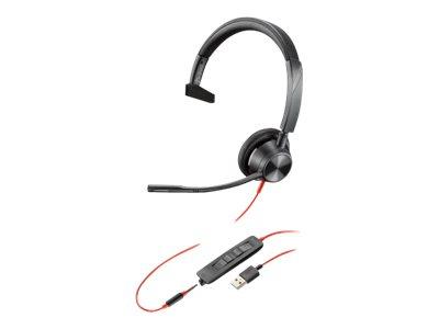 Poly Blackwire 3315 - Microsoft Teams - 3300 Series - Headset - On-Ear - kabelgebunden