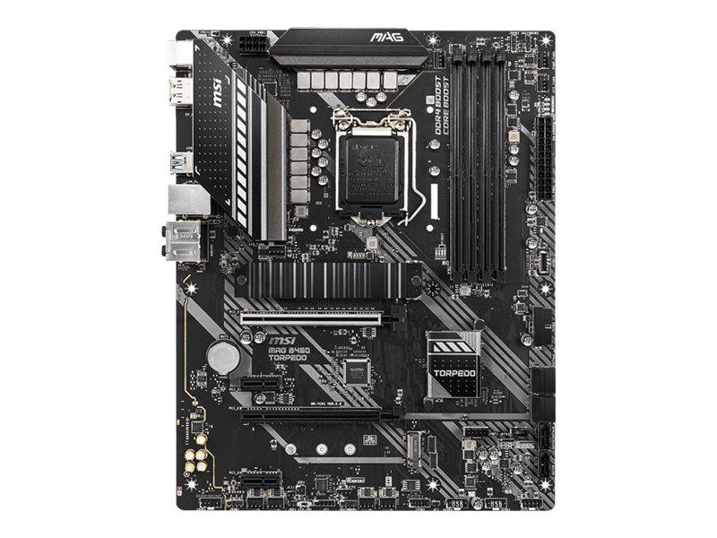 MSI MAG B460 TORPEDO - Motherboard - ATX - LGA1200-Sockel - B460 - USB-C Gen1, USB 3.2 Gen 1