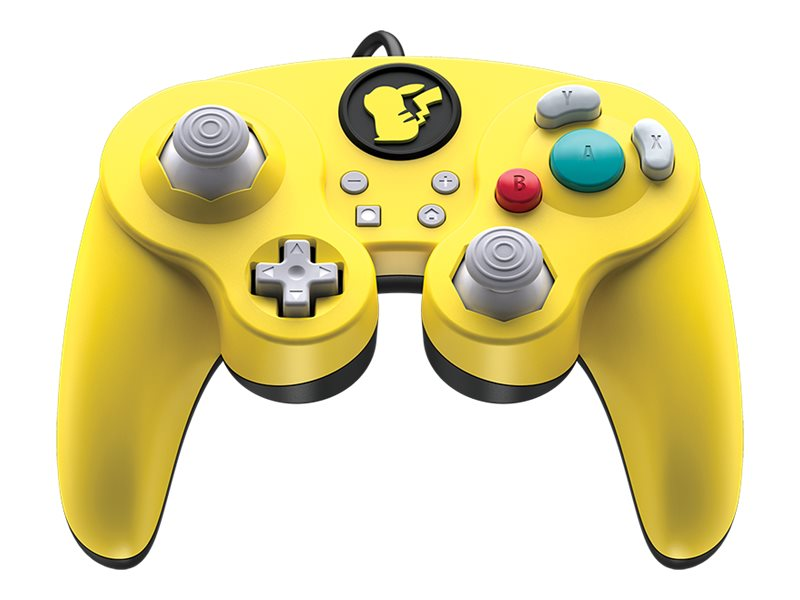 PDP Wired Smash Pad Pro - Pikachu - Game Pad - kabelgebunden - für Nintendo Switch