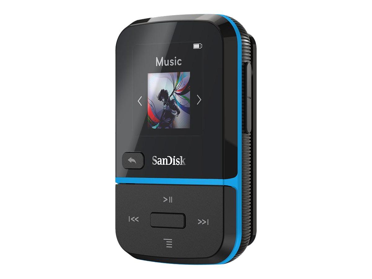 SanDisk Clip Sport Go - Digital Player - 32 GB - Blau