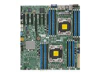 SUPERMICRO X10DRH-iT - Motherboard - Erweitertes ATX - LGA2011-v3-Sockel - 2 Unterstützte CPUs - C612