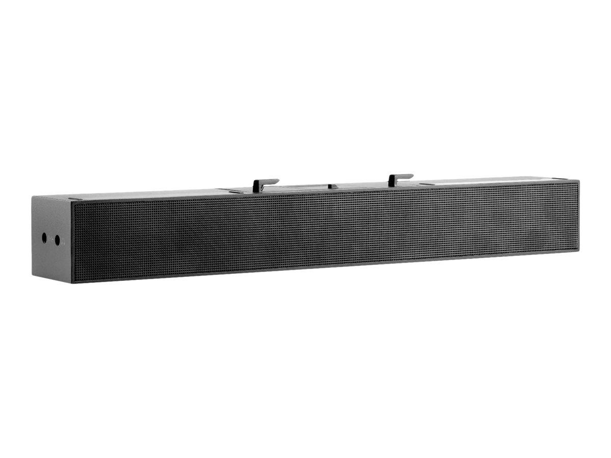 HP S101 - Soundleiste - für Monitor - 2.5 Watt - Schwarz (Grill Farbe - Schwarz)